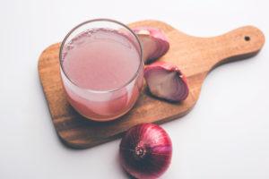 jugo de cebolla