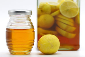 Miel de abeja y limón