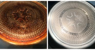 sartén sucia vs sartén limpia