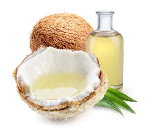 curry y aceite de coco