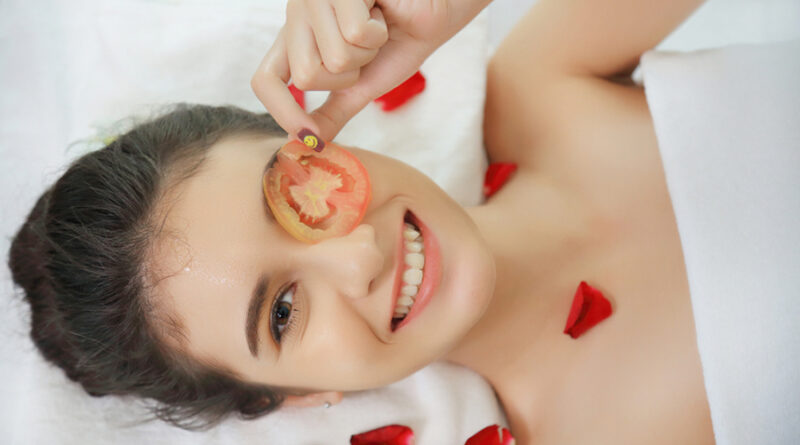 tomate para el rostro