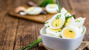 receta de huevo cocido